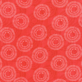 Wilmington Essentials - Circle Burst Cherry Red Yardage