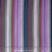 Kaffe Wovens - Exotic Stripe Midnight Yardage