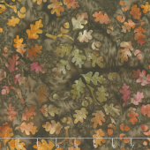 Artisan Batiks - Cornucopia 10 Leaves Earth Yardage