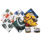 Wizarding World Harry Potter House Crests Fat Quarter Bundle