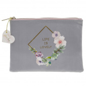Lovely Garden Diamond Wreath Glam Bag