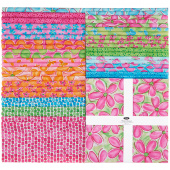 "Whimsy Daisical 10"" Squares"