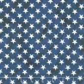 Land That I Love - Bright Stars Navy Yardage