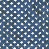 Land That I Love - Bright Stars Navy Yardage
