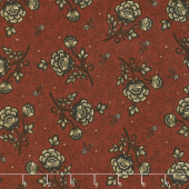 Helping Hands - Wild Rose Red Yardage