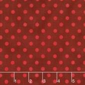 Shiny Objects - Holiday Twinkle Spot On Radiant Crimson Metallic Yardage