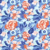 Voyage - Kew Baltic Blue Yardage