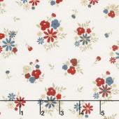 American Heritage - Floral Cream Yardage