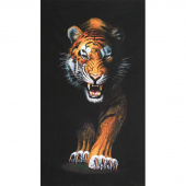 Animal Kingdom - Tiger Wild Digitally Printed Panel