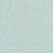 Totally Tulips - Teal Wave Texture Pearlized Yardage