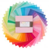 Kona Cotton - New Bright Palette Charm Pack