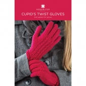 Cupid's Twist Gloves Knit Pattern by Missouri Star