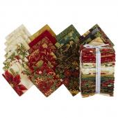 Holiday Flourish 12 Holiday Metallic Fat Quarter Bundle