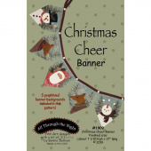 Christmas Cheer Banner Pattern