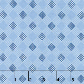 Mackinac Island - Plaid Light Blue Yardage