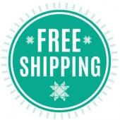 Free Shipping Sale + Bonuses at $60, $100, $125, $250