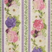 Flower Show - Repeating Stripe Multi Yardage