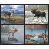 Nature's Finest - Wildlife Pillow Panel