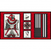 Thin Red Line - Flag Red Panel