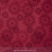 The Forever Collection - Snowflakes Light Cardinal Yardage