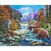 Picture This - Bears Nature Digitally Printed Panel