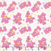 Care Bears - Sparkle & Shine Sparkles in White Yardage