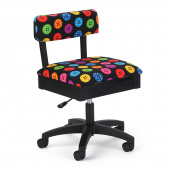 Hydraulic Sewing Chair - Bright Buttons