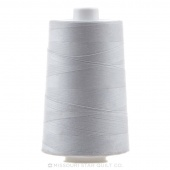 Silver OMNI Thread - 6,000 yds (poly-wrapped poly core)