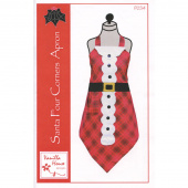 Santa Four Corners Apron Pattern