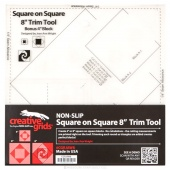 """Creative Grids Square on Square Trim Tool - 4"""" or 8"""" Finished"""