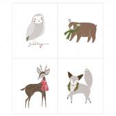 Merriment - Winter Critter Multi Panel