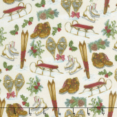 Spruce Mountain - Mountain Sports Cream Yardage