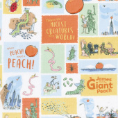 James and the Giant Peach - Main White Yardage