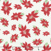 Sweet Christmas - Poinsettia Marzipan Yardage