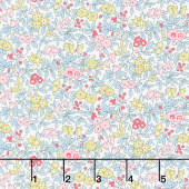 Flower Show Spring - Forget Me Not Blossom Yardage