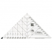 Creative Grids® Half-Square 4-in-1 Triangle Ruler
