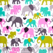 I Spy - Elephant Walk Orchid Yardage