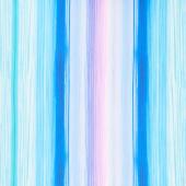 Forest Magic - Stripe Blue Yardage