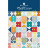 Flower Glass Quilt Pattern by Missouri Star