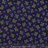 Arabella - Tiny Violets Dark Purple Yardage