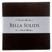 Bella Solids - Black Charm Pack
