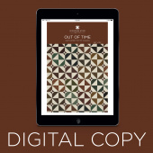 Digital Download - Out of Time Quilt Pattern by Missouri Star