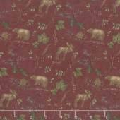 Return to Cub Lake - Cub Lake Old Red Flannel Yardage