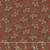 Harriet's Handwork 1820-1840 - Bandbox Berry Red Yardage