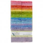 Spring Zing Batiks Strip Pack