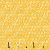 Show Me the Honey - Honeycomb Yellow Yardage