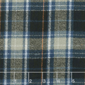 Mammoth Flannel - Plaid Storm Yardage