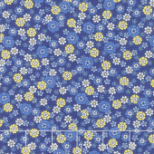 Summer Breeze VI - Little Blooms Navy Yardage