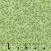 Farmhouse Rose - Leaves Green Yardage