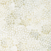 Whisper Batiks 2 - Flower Stencil Whisper Yardage